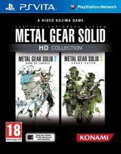 Cover Metal Gear Solid HD Collection (PS Vita)