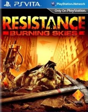 Cover Resistance: Burning Skies