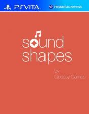 Cover Sound Shapes (PS Vita)