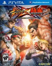 Cover Street Fighter X Tekken (PS Vita)