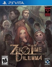 Cover Zero Escape: Zero Time Dilemma (PS Vita)