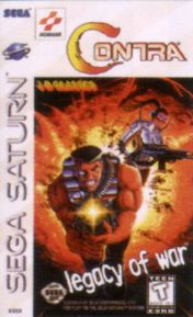Cover Contra: Legacy of War