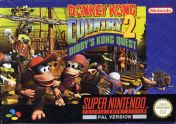 Cover Donkey Kong Country 2: Diddy's Kong Quest (Snes)