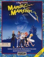 Cover Maniac Mansion