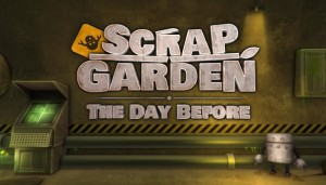 Cover Scrap Garden: The Day Before