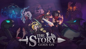 Cover The Story Goes On