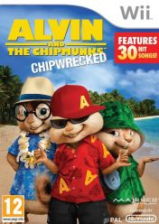Cover Alvin and the Chipmunks: Chipwrecked