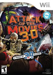 Cover Attack of the Movies 3D