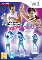 Cover Dance Dance Revolution: Hottest Party 4