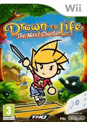 Cover Drawn to Life: The Next Chapter (Wii)