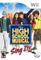Cover High School Musical: Sing It! (Wii)