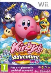 Cover Kirby's Adventure Wii