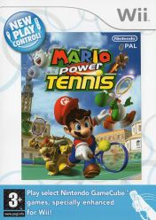 Cover New Play Control! Mario Power Tennis