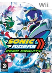 Cover Sonic Riders: Zero Gravity (Wii)