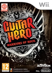 Cover Guitar Hero: Warriors of Rock