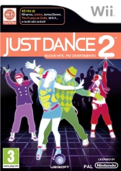 Cover Just Dance 2 (Wii)