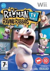 Cover Rayman Raving Rabbids: TV Party