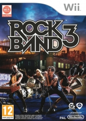 Cover Rock Band 3 (Wii)