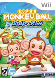 Cover Super Monkey Ball: Step & Roll (Wii)