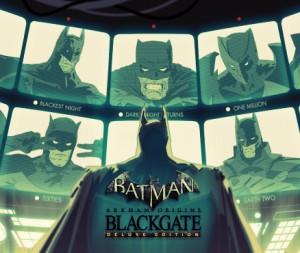 Cover Batman: Arkham Origins Blackgate – Deluxe Edition