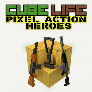 Cover Cube Life: Pixel Action Heroes
