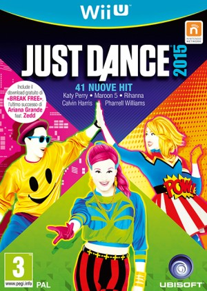 Cover Just Dance 2015 (Wii U)