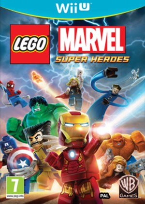 Cover LEGO Marvel Super Heroes