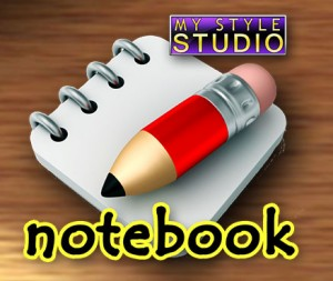 Cover My Style Studio: Notebook