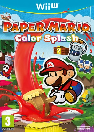 Cover Paper Mario: Color Splash