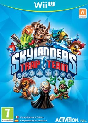 Cover Skylanders Trap Team (Wii U)