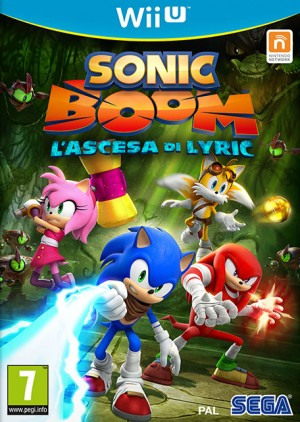 Cover Sonic Boom: Rise of Lyric