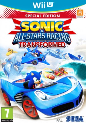 Cover Sonic & All-Stars Racing Transformed (Wii U)