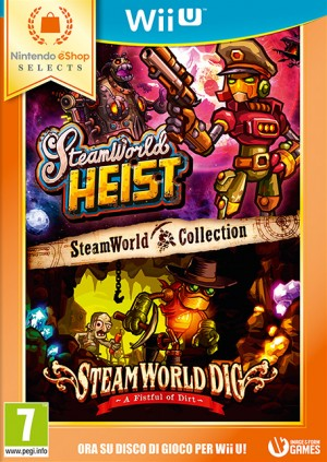 Cover SteamWorld Collection