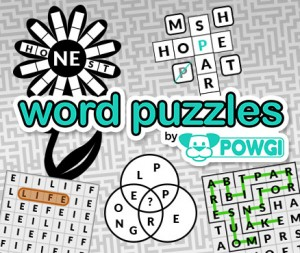 Cover Word Puzzles by POWGI