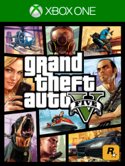 Cover Grand Theft Auto V (Xbox One)