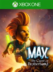 Cover Max: The Curse of Brotherhood (Xbox One)