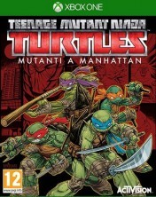 Cover Teenage Mutant Ninja Turtles: Mutants in Manhattan