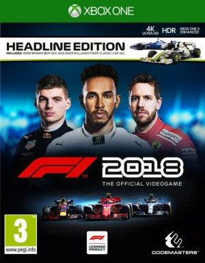 Cover F1 2018 (Xbox One)
