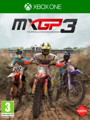 Cover MXGP3 - The Official Motocross Videogame