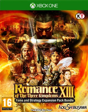 Cover Romance of the Three Kingdoms XIII