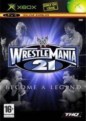 Cover WWE WrestleMania 21