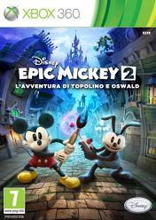 Cover Epic Mickey 2: L'Avventura di Topolino e Oswald (Xbox 360)