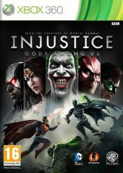 Cover Injustice: Gods Among Us (Xbox 360)