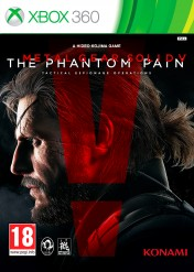 Cover Metal Gear Solid V: The Phantom Pain (Xbox 360)