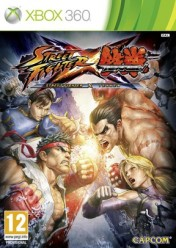 Cover Street Fighter x Tekken (Xbox 360)