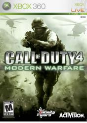 Cover Call of Duty 4: Modern Warfare (Xbox 360)