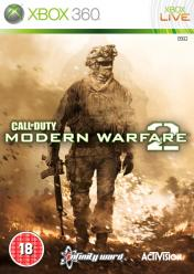 Cover Call Of Duty: Modern Warfare 2 (Xbox 360)