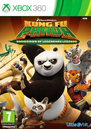 Cover Kung Fu Panda: Showdown of Legendary Legends (Xbox 360)