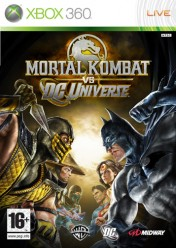 Cover Mortal Kombat vs. DC Universe