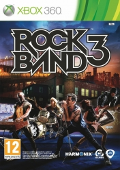 Cover Rock Band 3 (Xbox 360)